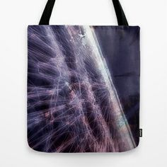 Horizon Mapping Tote Bag by SUeisH - $22.00