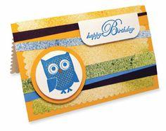 Owl #Stamp #Card