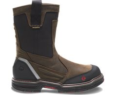 """Wolverine Overman Waterproof CarbonMax 10"""" EH Work Boot"""