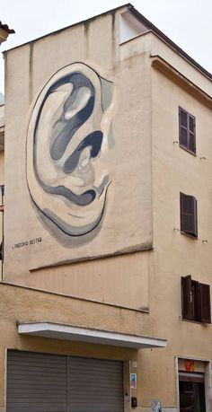 Mural in Rome By Escif