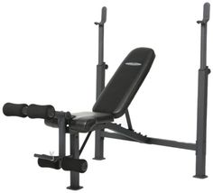 Marcy Fitness Competitor Adjustable Olympic Home Gym Workout Bench and Rack with Leg Developer for Weight Lifting and Strength Training Best Chest Workout, Chest Workouts, Gym Workouts, Workout Fitness, Chest Exercises, Fitness Gear, Home Gym Equipment, No Equipment Workout, Fitness Equipment