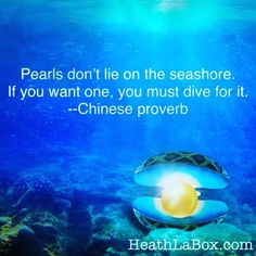 Pearls don't lie on the ⛱ seashore. If you want one, you must dive for it! Chinese proverb.  Often the material and non material things in life we desire are sought after. They are not just given to us. #ocean #desire #quote  @mylumyer #lumyer #lumyerapp