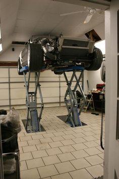 In-floor Scissor Lift Install - The Garage Journal Board