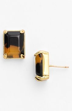 kate spade new york stone stud earrings | Nordstrom