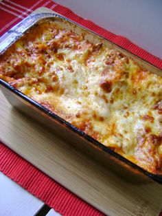 Lasagna for Two - Made last night. It was super!