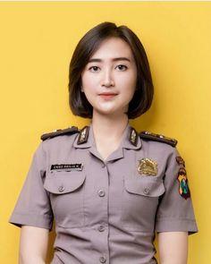 Nona Jaman Now: Indonesian Army Police Beautiful