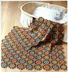 Artesanato com amor...by Lu Guimarães: Colchas e mantas  em  Crochê lindas