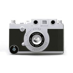 Gizmon Ica iPhone case turns it into a classic rangefinder camera.