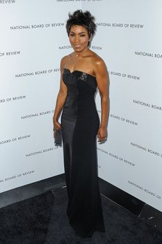 Angela Bassett looking chic in #THEIA