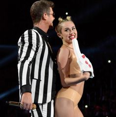 Something I Hate - Giving celebrities attention that deserve the opposite  http://realitytvmagazine.sheknows.com/2013/08/26/celebs-not-impressed-by-miley-cyrus-vmas-performance/