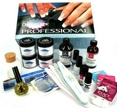 This is a fabulous kit put together for nail students as well as seasoned technicians. It offers extreme value for money and a chance to make sure you have 'everything you need'. Visit us at The Nail Shop. Acrylic Nail Supplies, Acrylic Nail Art, Opi Nail Polish, Opi Nails, Acrylic Nail Starter Kit, Professional Nail Art, Young Nails, Pedicure Nail Art, Nail Supply