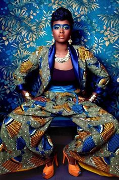 editorial, african fashion