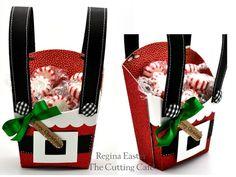 Santa Suspenders Fry Box by reaster
