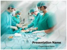 #Surgical Procedure #PPT #template for medical professionals. Create…