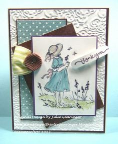 Stamping with Julie Gearinger: Dog Days of Summer- Virtual Stamp Night #1 :-)