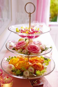 Flowers - lovel table decoration idea