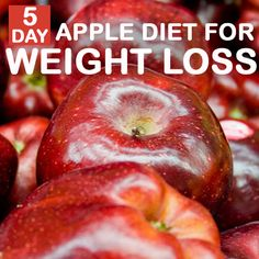 5 Day Apple Diet For Weight Loss :- An apple diet? Does it sound funny? Laugh all you want but don't doubts its effectiveness even for a minute. Here is the apple diet for weight ...