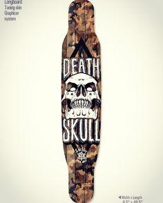Black lucifer death skull' longboard deck graphic tuning design. Designed by DOLDOL. www.graphicer.co.kr.  #Snowboard #skateboard #sk8 #longboard #surf #graphicdesign #design #secter9 #stickers #extreme #board #characterdesign #doldol #graphicer #skull  #스노우보드 #스케이트보드 #롱보드 #그래픽디자인 #캐릭터디자인 #로디드 #방그라 #illust #graffiti #bike #해골 #돌돌디자인 #롱보드스티커 #tattoo
