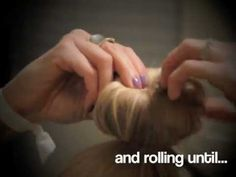 The Homemade sock bun - This actually works! Tried and tested :)
