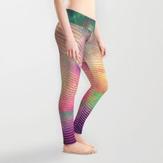 We sifted through Society6's huge catalog of artist-designed leggings so you don't have to...