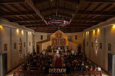 La nave de la Iglesia Santa Ana en La Lagunita. #Bodas #Iglesia #Fotografia