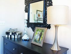 #bedroom #dresser in the Harrison model home at Arcadia Springs in Martinsburg, WV- http://arcadia-springs.com/arcadia-springs/our-homes/harrison-4-bedroom/ #homedecor #accents