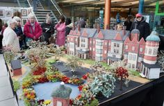 Knitted Sandringham estate - Woman to appear on ITV's This Morning with knitted version of Queen's Norfolk estate Norfolk House, Phillip Schofield, Great Yarmouth, Knit Art, Holly Willoughby, Over The Moon, Out Of This World, How To Raise Money, Mercury