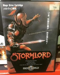 "By ludlum_vince: Stormlord for Japan Sega Mega Drive . "" A storm of Legendary Force is brewing ""  #Stormlord  #ストームロード #Sega  #メガドライブ  #segamegadrive  #segacollection #segacollective #Genesis #MegaDrive #16bits  #16bit #retrogames #retroliberty #retrosega #cuzsega #cib #igerssega  #ludlumV #segagenesis #segamegadrive #microhobbit"