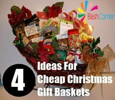4 Ideas For Cheap Christmas Gift Baskets