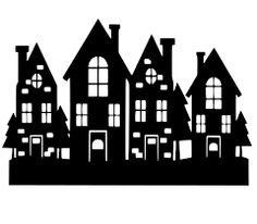 """Résultat de recherche d'images pour """"village silhouette"""""""