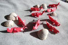 9 baleines origami par LaureDaintyArt sur Etsy
