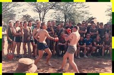Boxing to tesy aggression, PT course. Airborne Ranger, Army Day, Defence Force, Armies, Military Life, My Land, My Heritage, Afrikaans, African History