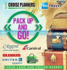 Now is the time to pack up and go! So call me to plan your dream vacation and experience a trip to remember. - http://ift.tt/1HQJd81