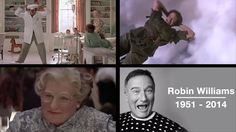 Touching Robin Williams tribute video includes lines from Jack, scenes from movies.