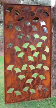 Ginko - Garden screens - Love these!!
