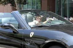 Harry Styles new F1 Ferrari California