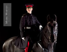 Household Cavalry Officer By Mark Harvey.  Uk Horse Photographer, Refined Equine Portraiture, Her Majesty, Traditional, British, Tourism. Refined, Uniform.