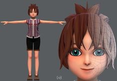 Base GirlV04 Clothing V01 | 3D model 3d Character, Character Design, 3d Projects, 3d Animation, Tinkerbell, Disney Characters, Fictional Characters, Base, Cool Stuff
