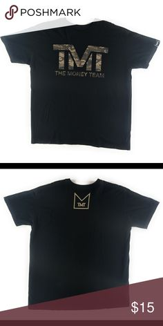 8744010c TMT The Money Team Floyd Mayweather Boxing Shirt Size-XXL Floyd Mayweather  money team Camo
