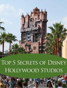 Top 5 Secrets of Disney Hollywood Studios, Disney World, Tips, Secrets, travel
