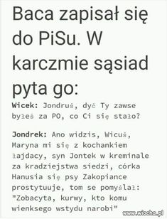 Polish Memes, Weekend Humor, Funny Mems, Man Humor, Satire, Good To Know, Sarcasm, Funny Pictures, Jokes