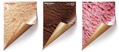 creative paper ad