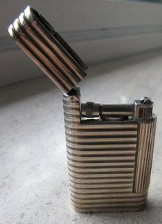 Van Cleef Lighter. Sterling Silver. Second Model. 1950.