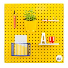 The 50 Pegboard (Mustard) – Peg and Board