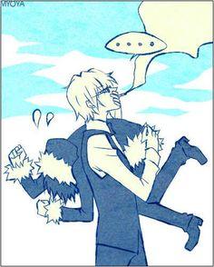 Shizuo and Izaya