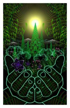 Cadeau de la nature Print édition spéciale par ArtofSamuelFarrand