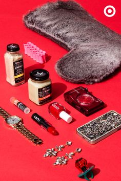 Sweeten things up with these fashionista-approved stocking stuffers—makeup, accessories and a camera to capture the magic—because everything should be a little bit glam this holiday season. Holiday Gift Guide, Holiday Recipes, Holiday Gifts, Holiday Decor, Red Filter, Shimmer N Shine, Jingle Bells, Merry And Bright, Holiday Wreaths