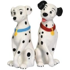 101 Dalmations In Love Magnetic Salt and Pepper Shaker Set $13.49
