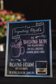 Signature Drink Wedding Sign - Moscow Mule and Old Fashioned Fall Wedding Drinks, Wedding Signature Drinks, Signature Cocktail, Old Fashioned Wedding, Old Fashioned Drink, Moscow Mule, Wedding Signs, Our Wedding, Unique Wedding Favors