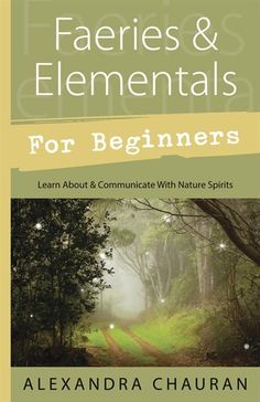 Faeries and Elementals for Beginners: Wicca Pagan Witch Goth Spell Seattle University, Witchcraft Books, Wiccan Books, Green Witchcraft, Wiccan Spells, Magic Spells, Nature Spirits, Pagan Witch, All Nature